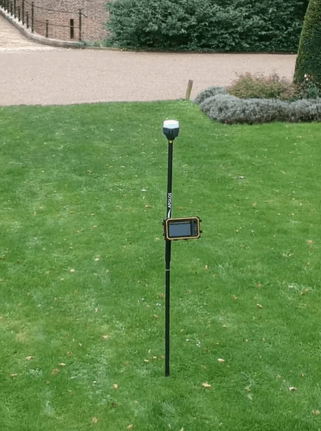 GPS meetstok