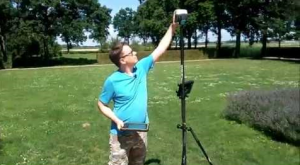 Cursus landmeten met GPS