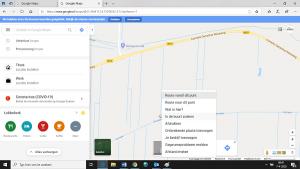 De beste manier om de afstand te meten op Google maps
