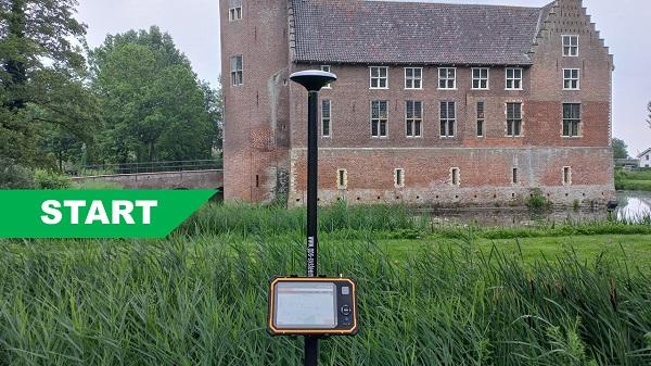 Compleet Start GPS systeem voor kasteel