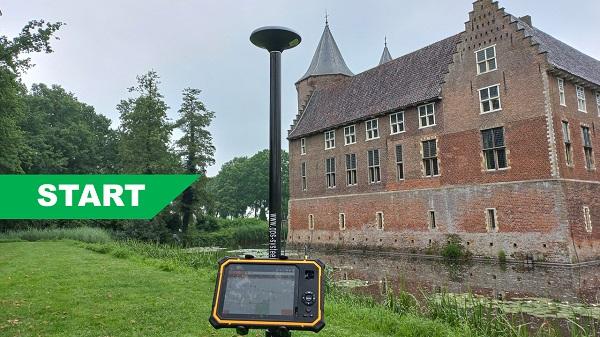 Compleet Start GPS systeem