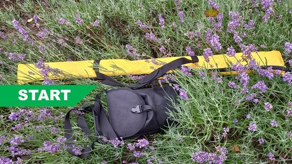 Tassen van Start GPS systeem