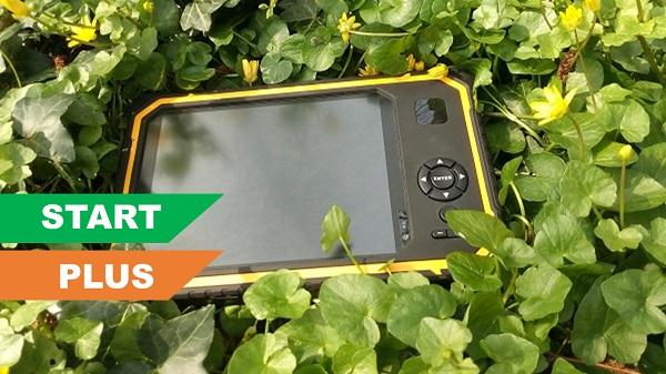 Tablet Apglos Armor van Start en Plus GPS systeem