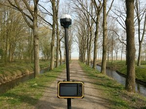 GPS meetstok, een stok om mee te meten