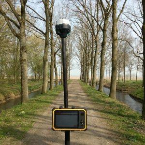 Apglos-Emlid GPS meetsysteem