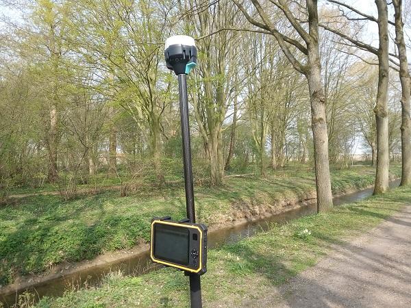 GPS meetsysteem voor landmeten