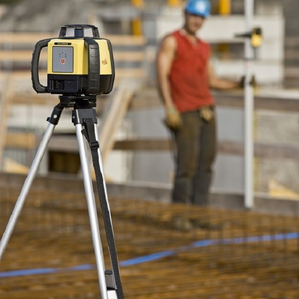 NAP hoogte meten met roterende laser